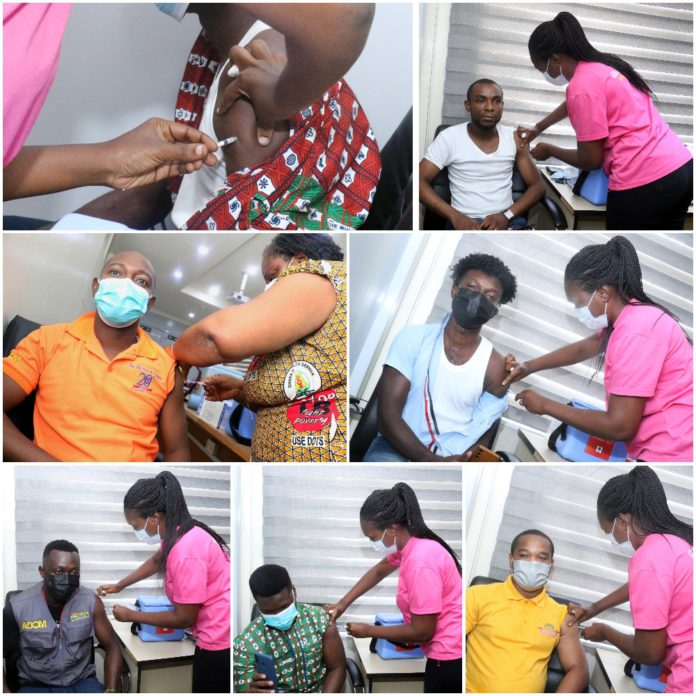 Staff of The Multimedia Group receive COVID-19 vaccine [Photos] 60