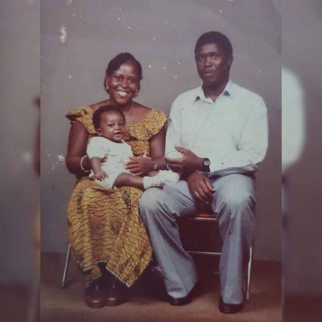 Sam George shares rare photos of his parents. 51