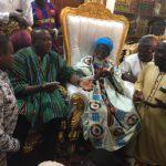 Ofosu Ampofo visits Chief Imam