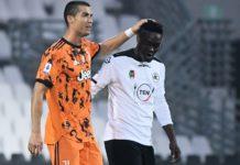 Emmanuel Gyasi and Cristiano Ronaldo