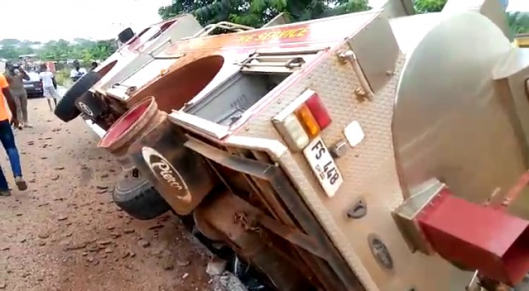 5 Fire Service officers severely injured in Duayaw Nkwanta accident (Photos). 6