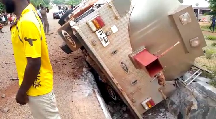 5 Fire Service officers severely injured in Duayaw Nkwanta accident (Photos). 7