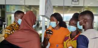 Joy at last as Ghanaian lady neglected in Oman is evacuated