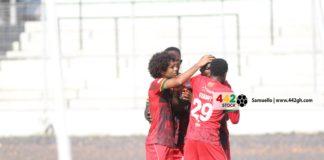 Asante Kotoko celebrate