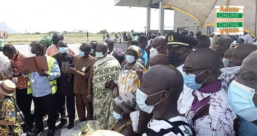 Flight makes historic landing at Ho Airport [Photos]. 7