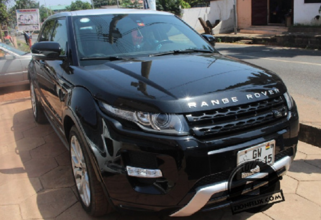 Gasmilla's Range Rover before he put it up for sale
