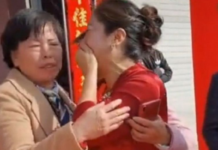 Woman finds out on son's wedding day that bride is actually her long-lost daughter