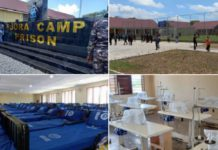 The Ejura Camp Prison donated by the Church of Pentecost to the Ghana Prisons Service