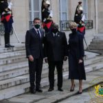 Macron receives Akufo-Addo at Elysee Palace ahead of Summit