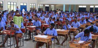 SHS students in school