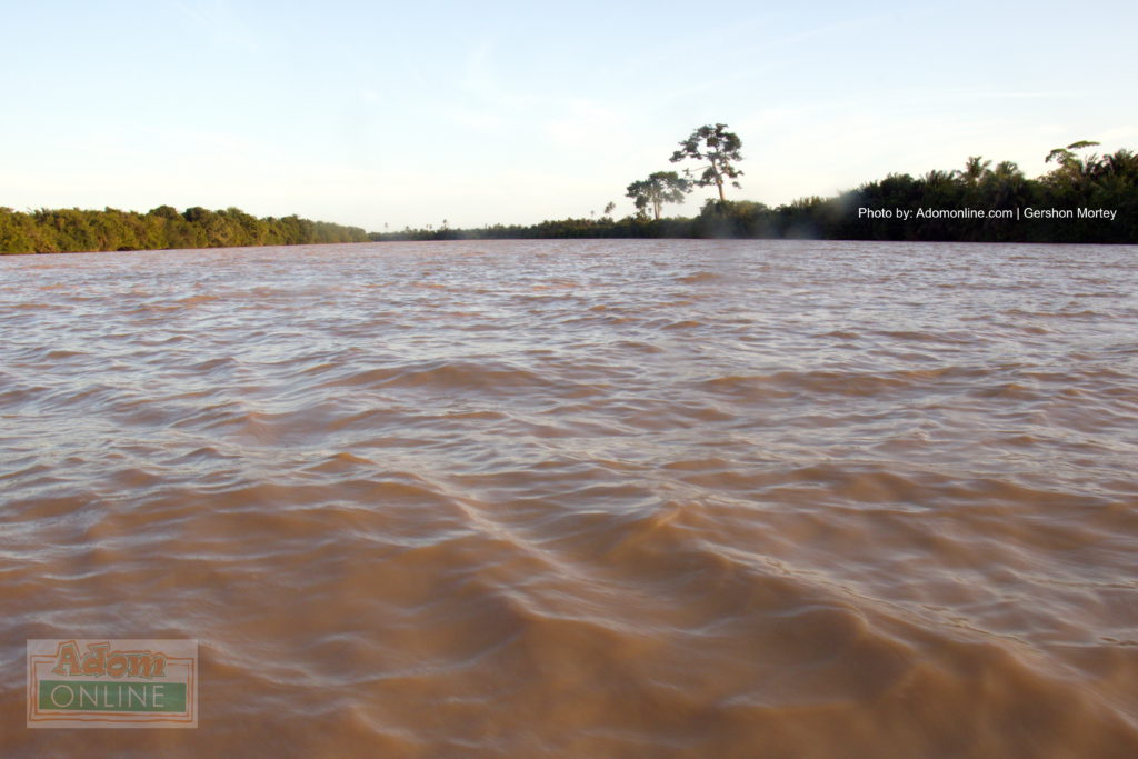 The current state of the Pra River | Adomonline.com