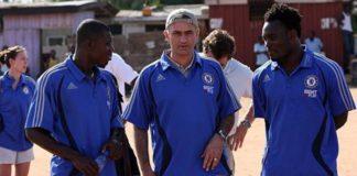 Mourinho & Essien in Ghana
