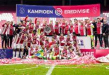 Ajax celebrate