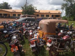 50 motorbikes, 'Pragya and Aboboyaa' impounded in police swoop at Sefwi