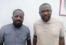Papa Mystero of Asempa FM and Aziz Haruna Futah