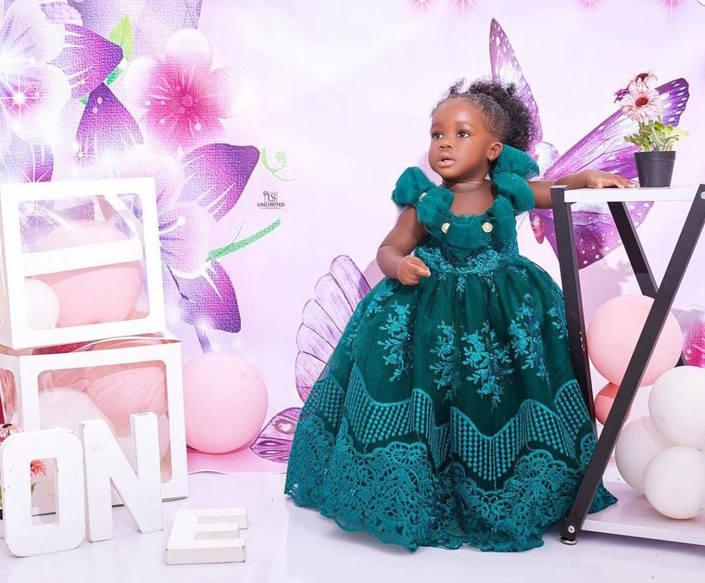 Tracey Boakye drops hot photos to mark daughter's birthday. 70