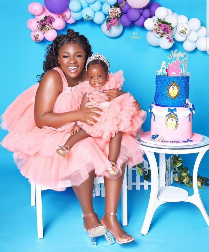 Tracey Boakye drops hot photos to mark daughter's birthday. 69