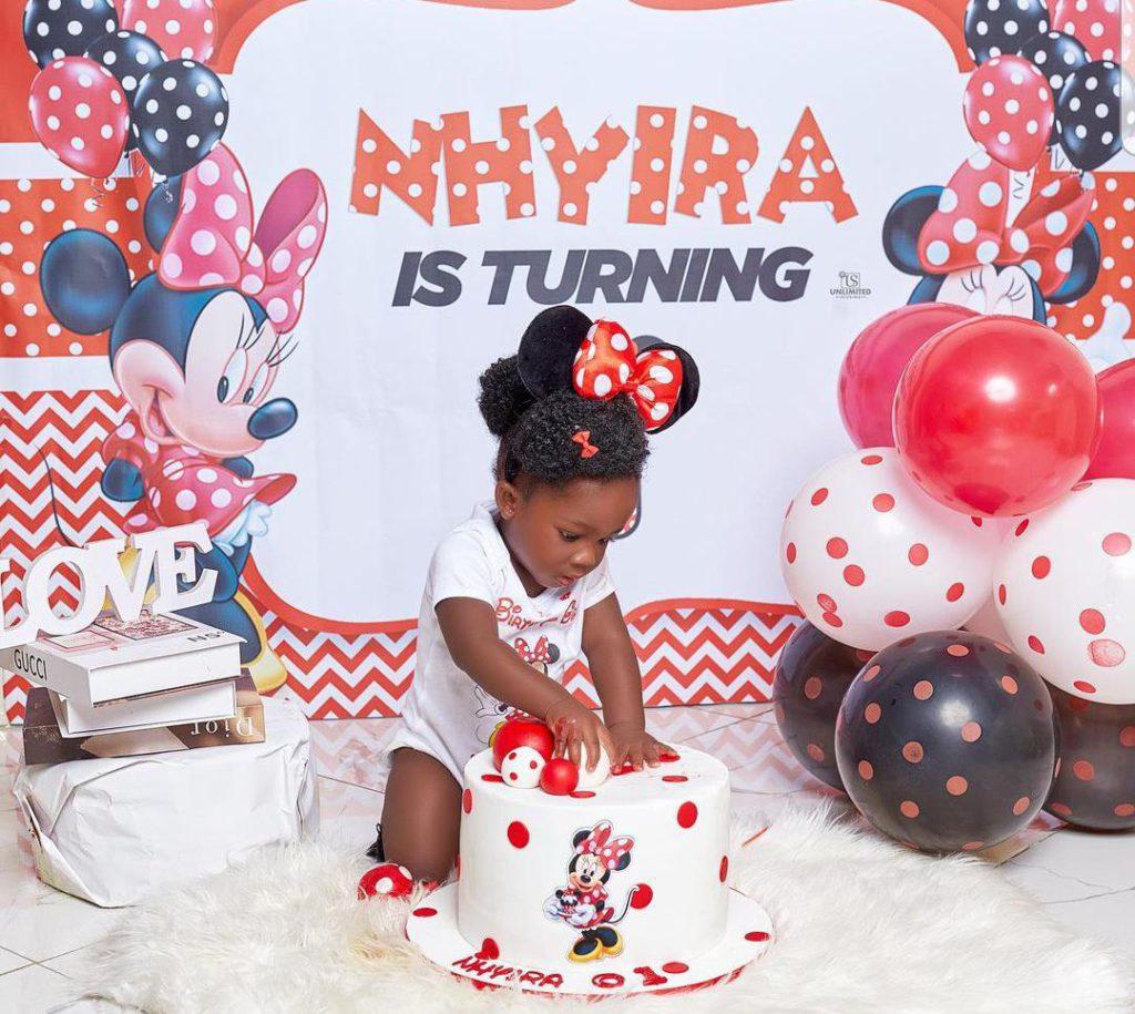 Tracey Boakye drops hot photos to mark daughter's birthday. 68