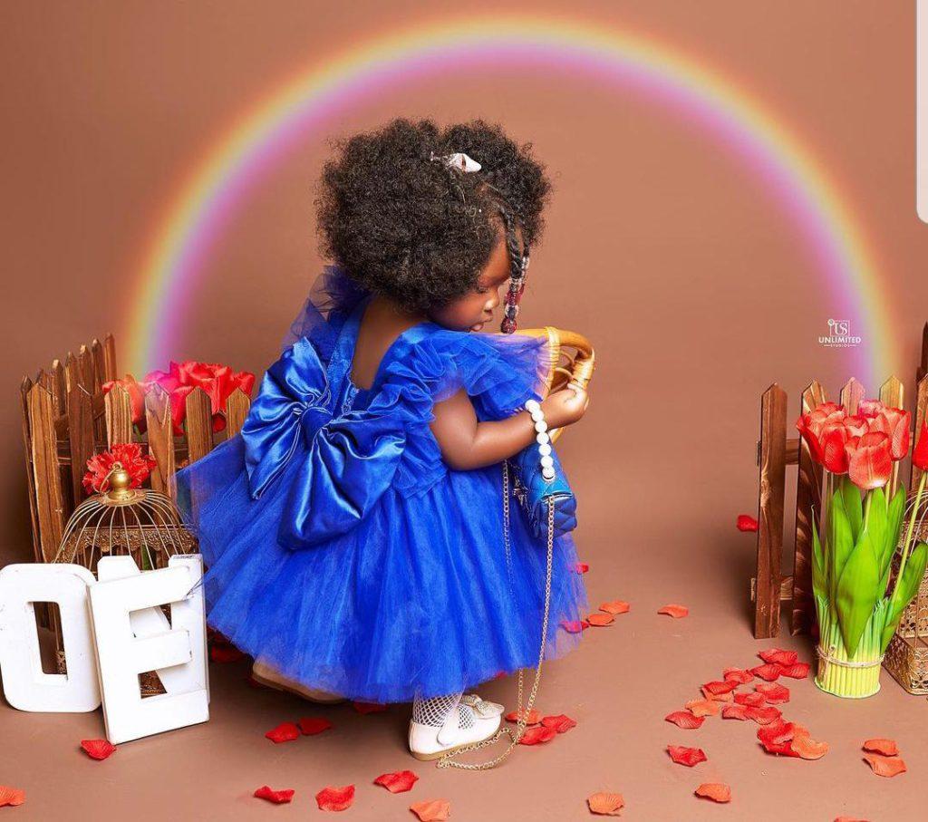 Tracey Boakye drops hot photos to mark daughter's birthday. 67