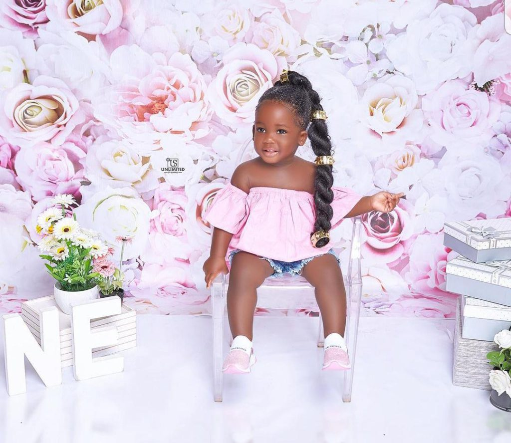 Tracey Boakye drops hot photos to mark daughter's birthday. 72