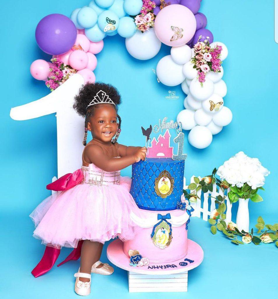 Tracey Boakye drops hot photos to mark daughter's birthday. 64