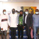 GFA boss, Kurt Okraku with Multimedia Crew