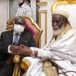 Godfred Yeboah Dame and Chief Imam
