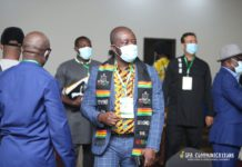 Kurt Okraku is the president of the Ghana Football Association [GFA]