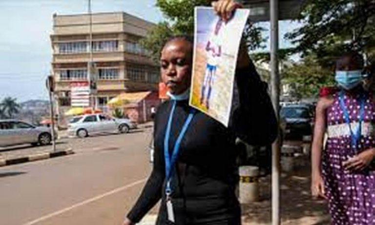 Uganda riot police sent to break up women in white