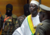 President Bah Ndaw (centre) is reportedly being held by Malian soldiers near the capital Bamako