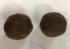 The cow dung cakes found in a suitcase that arrived on an Air India flight at the Dulles Washington airport in the US. Photo: US Customs and Border Protection