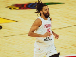 rapper J. Cole made his professional basketball debut as the Basketball Africa League tipped off its inaugural season in Rwanda.