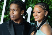A$AP Rocky supported Rihanna on her Diamonds World Tour in 2013