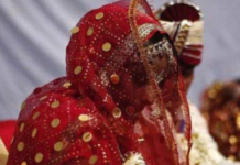 The groom had deliberately fled from the spot for reasons best-known to him.