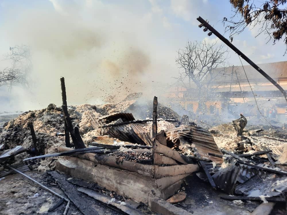 A/R: One dead in Asafo slum fire outbreak. 16