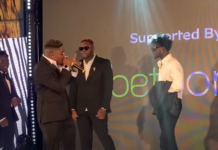 Medikal walks off stage at 4Syte Music Video Awards 2021