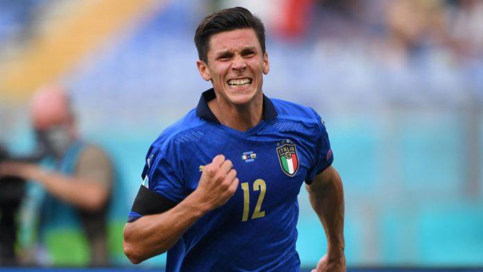 Matteo Pessina of Italy celebrates Image credit: Getty Images