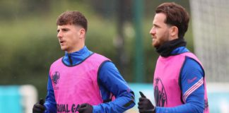 Mason Mount and Ben Chilwell Image credit: Getty Images