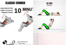 Six-pack exercise