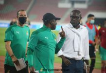 CK Akonnor and his assistant, David Duncan