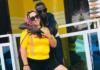 Patapaa Amisty and his wife Liha Miller Amoah at Agona Swedru in Ghana | Photo: @official_liha_miller (Instagram)