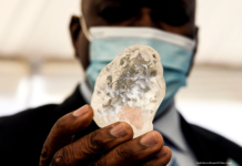 One of the world's largest diamonds has been unearthed in Botswana | Credit: Monirul Bhuiyan/AFP/Getty Images