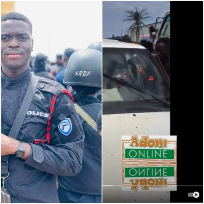 Exclusive photos: Meet police officer killed in James Town bullion van robbery