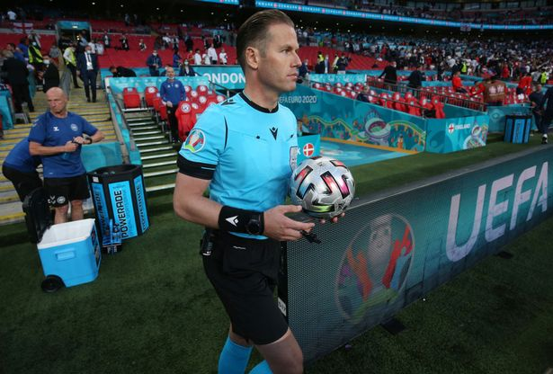 Referee Danny Makelie was criticised for his decision to hand England a penalty in extra-time