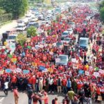 NDC 'March for Justice' protest