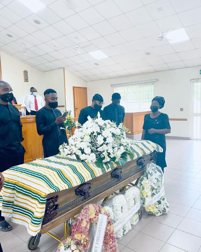 Keche Andre's father laid to rest