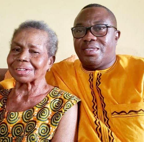 This image has an empty alt attribute; its file name is Ofosu-Ampofo-mother.jpg