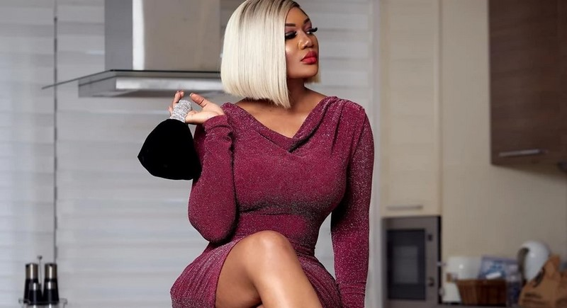 Sandra Ankobiah's saucy mini dresses cause stir on social media -