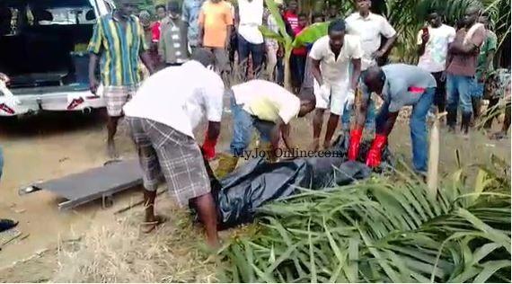 Farmer found dead in a river at Asiakwa. 49