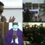 sarkodie at Gabby's father's funeral